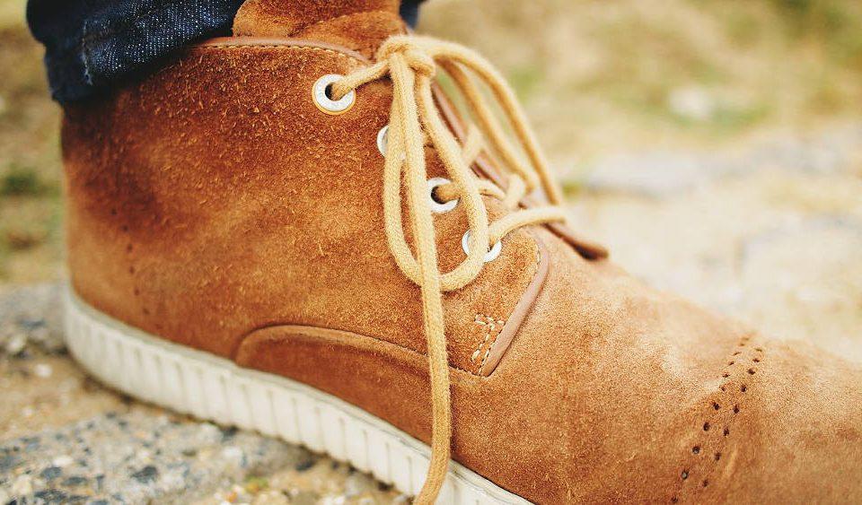 Otarcia na zamszowych butach